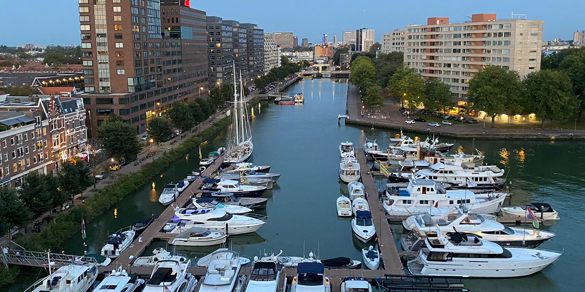 YoreOn.com now available in Rotterdam marina 'The Admiraliteit'